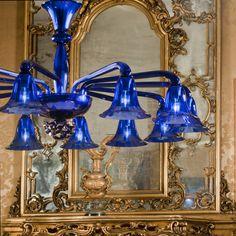 Polani Blue  #yourmurano #muranoglass #chandeliers