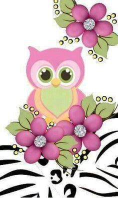 Wall paper cute owl wallpapers Ideas for 2019 Tole Painting, Fabric Painting, Cute Owls Wallpaper, Owl Background, Wal Art, Owl Cartoon, Owl Pictures, Beautiful Owl, Owl Crafts