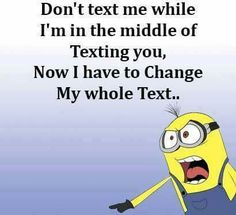 That's right.. the nerves of people you... you can't wait until you sees read wait for the ( .....) your iPhone lmao