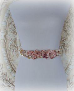 Blush Bridal Sash,Champagne Bridal  Sash, Blush Sash,Rose  Bridal Sash,  Blush Wedding Sash, Romantic Rose  Bridal Sash by HopefullyRomantic on Etsy https://www.etsy.com/listing/192188041/blush-bridal-sashchampagne-bridal-sash