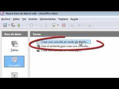 LibreOffice - Base de Datos - TEMA 1: Introduccion a Tablas, Consultas y...