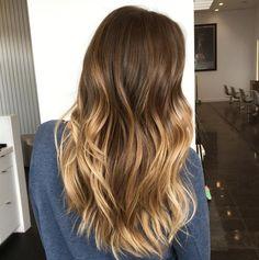 Gradient brunette to blonde by Steven Robertson