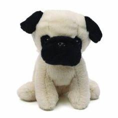 Shmossy Pug Plush- $7.00