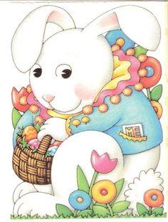 Easter Bunny!   -Mary Englebreit
