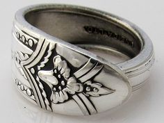 Silverware turned into rings.  I like this one :-)