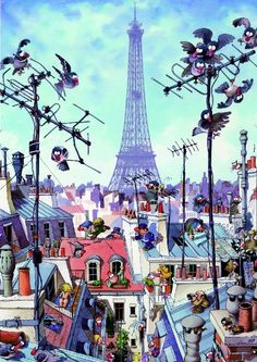 Eiffel tower 1000 pieces