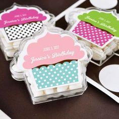 cajitas acrilicas cupcakes para dulces #Sweetsixteen