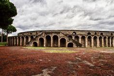 Ancient arena in Pompeii, Italy