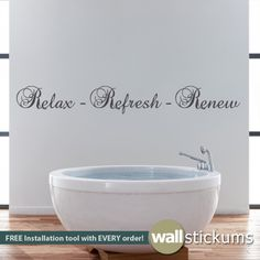 this wall decal is a perfect addition to any bathroom if you need this decal in a custom size please