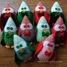 JumbaJamba Little Penguin Pillows