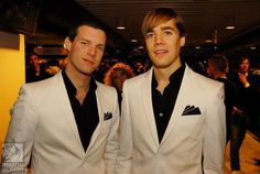 Chris Dangerous and Howlin' Pelle from The Hives band