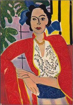 MATISSE. Le collier d´ambre (1937)