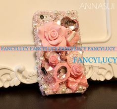 New Luxury Handmade Bling Crystal iphone 4g 4s case. pink,cute,it's a dream for sweet dream girl! princess cases! by iPhoneCasesFancylucy, $23.98 #Christmas #thanksgiving #Holiday #quote