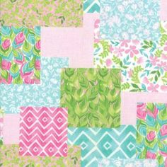 Moda Fabrics Fleurologie by Stephanie Ryan Multi Patchwork