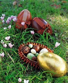 Des boîtes pour Pâques en forme d'oeufs! / Easter http://www.marieclaireidees.com/,des-boites-en-forme-d-oeufs,2610153,1440.asp