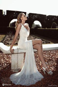Nice ... if you've got the legs for it.  Zoog Studio 2013 Wedding dress