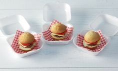 Kindertraktatie: hamburger cupcakes