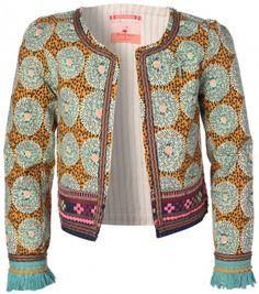 Allover Printed Inbetween Jacket