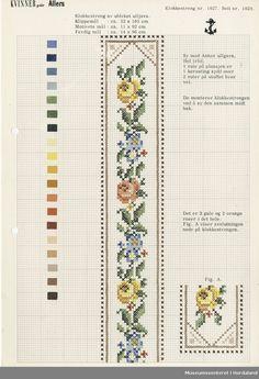 Cross Stitch Borders, Cross Stitch Patterns, Fun Hobbies, Needlepoint, Crochet Baby, Hand Embroidery, Needlework, Embellishments, Floral