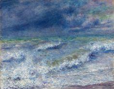 Paisaje marino. Renoir