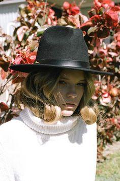 Image result for alexandra spencer 4th and bleeker black hat