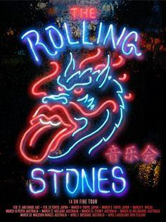 The Rolling Stones - 14 On Fire Tour - Asia/Australia