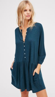 Button Up Dress | Free People
