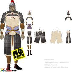 Jin armour ensemble