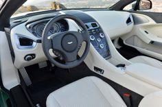 2014 Aston Martin Vanquish Volante - interior cockpit