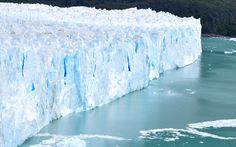 Impressively blue, Perito Moreno, Argentina --- Photo taken by Esmeralda Spiteri
