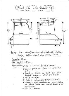 New Sewing Shorts Diy Free Pattern 17 Ideas Diy Shorts, Sewing Shorts, Sewing Clothes, Diy Clothes, Sewing Patterns Free, Clothing Patterns, Sewing Tutorials, Dress Patterns, Free Pattern