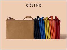 Celine in store in camel and black!