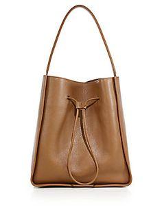 3.1 Phillip Lim Soleil Large Leather Drawstring Hobo Bag