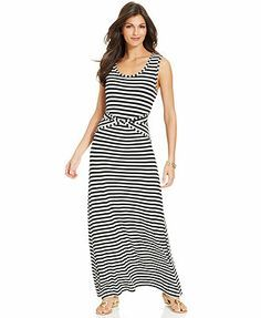 Apt Striped Maxi Dress Women S My Closet Pinterest