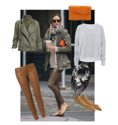 Walking in the Rain - Polyvore