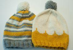 Knitted Hats, Winter Hats, Cap, Malli, Knitting, Crochet, Fashion, Baseball Hat, Moda