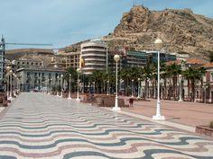 Alicante promenada, Spain #trivo