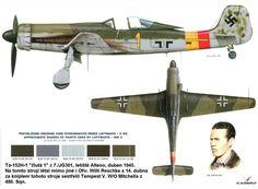 Ta 152 H JG 301 Pilot Obfw Willi Reschke