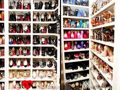 Closet de zapatos