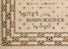 Motifs for embroideries, 1919