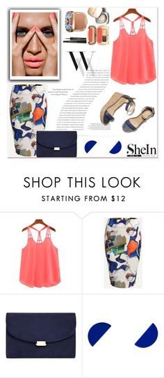 """SheIn Pink top #1"" by riborn ❤ liked on Polyvore featuring Balenciaga, Dolce&Gabbana and Wolf & Moon"