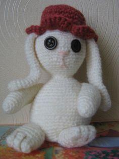 Crochet amigurumi rabbit