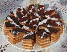 Poppy Cake, Hungarian Recipes, Winter Food, Nutella, Waffles, Vaj, Cukor, Breakfast, Food Cakes