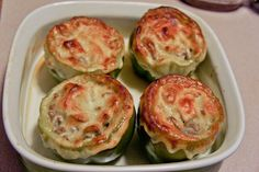 Cheesesteak Stuffed Peppers - Om Nomalicious
