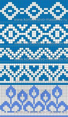 Tapestry Crochet Patterns, Fair Isle Knitting Patterns, Crochet Stitches Patterns, Knitting Charts, Crochet Chart, Loom Patterns, Knitting Designs, Knitting Stitches, Stitch Patterns
