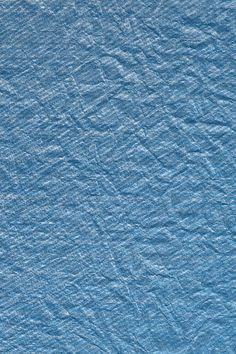 Tissu bleu froissé