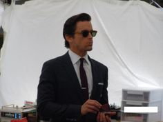 White collar filming August 2012