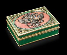 Elegant Homes, Some People, Decorative Boxes, Auction, Shapes, Fine Art, Emperor, Enamel, Beautiful