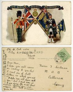 Cold Steel, Drummers, British Army, British History, Military History, Swords, Soldiers, Tartan, Postcards