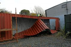 The shipping container house that was built in three days over the ...